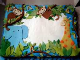 interior design best wild safari blue baby shower decoration