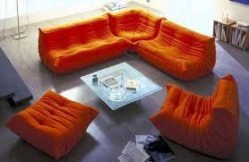 canapé ligne roset togo classical orange togo sofa buy modern classical orange fabric