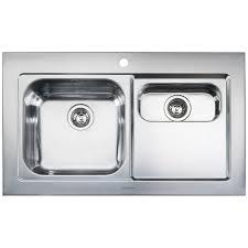 Rangemaster Mezzo  Bowl Stainless Steel Kitchen Sink - Rangemaster kitchen sinks