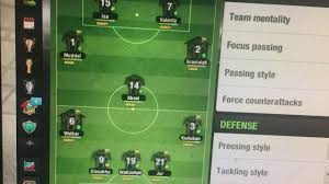 top eleven formation against better team 3 2 1 2 2 youtube