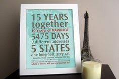 15 year anniversary gift 15 year wedding anniversary ideas tbrb info
