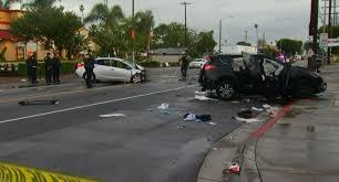 1 dead 4 injured in south la crash nbc southern california