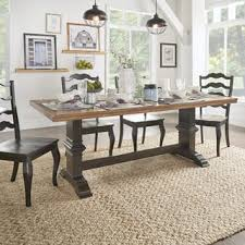wood rectangular dining table distressed kitchen dining room tables for less overstock com