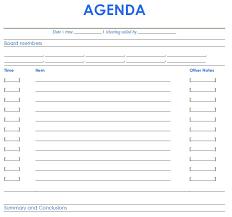 free agenda samples hitecauto us