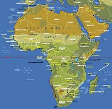 africa map maps of africa pictures and information
