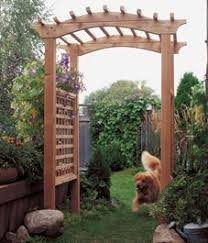 Backyard Arbor Ideas 21 Cool Garden Archways Covered With Flowers Shelterness
