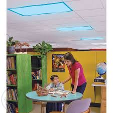 fluorescent light filters for classrooms classroom light filters fluorescent light covers calming blue