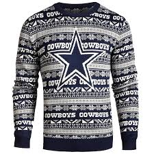 cowboys sweater dallas cowboys 2016 aztec print crew neck sweater small at