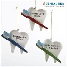 dentist tooth ornament dental hygienist smile personalized