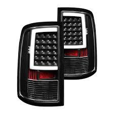 dodge ram led tail lights spyder dodge ram 1500 2500 3500 with factory incandescent