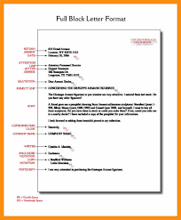 13 business block letter format abstract sample