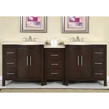 Bathroom Vanities And Sinks Caroline 72x22 Double Sink Bathroom Vanity In Espresso On Sale