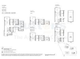 north park residences floor plan parc botannia sing development fernvale condo sengkang