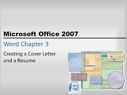 creating a cover letter and a resume ppt download