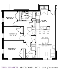 Accessible Bathroom Floor Plans by The Michaels Org
