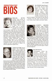 exle biography for ministers playbill actor bio exle google search youth ministry