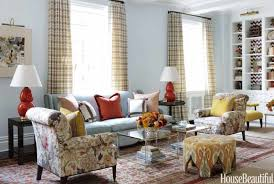 Traditional Living Room Interior Design - modern color palette ideas christina murphy colorful interiors