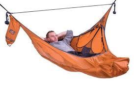 amok equipment winter hammock camping