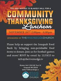 thanksgiving luncheon qp ad 2015 issaquah highlands