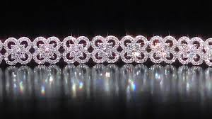 diamond flower bracelet images Round diamond flower design bracelet 6 0 ctw 18kt white gold jpg