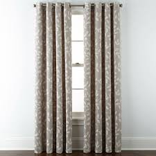 Smocked Burlap Curtains 108 Inch Curtains Jcpenney