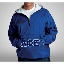greek store fraternity and sorority pullover anorak greek clothing