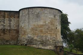Old Castle Curtain Wall York Castles Clifford U0027s Tower And Baile Hill Castle Yorkshire