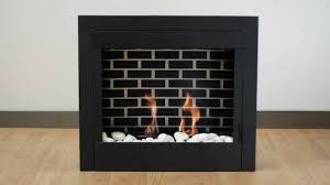 gel fuel indoor fireplace insert youtube