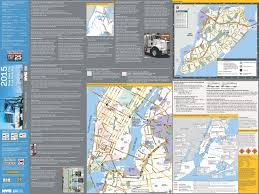 Manhattan New York Map by Nyc Dot Trucks And Commercial Vehicles