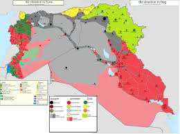 Syria Fighting Map by All That You Need To Know About The Isis