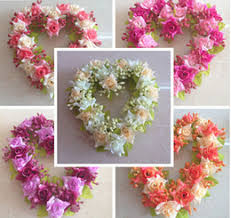 shaped flower wreath suppliers best shaped flower