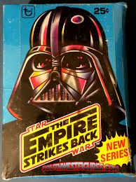 wars vintage topps trading cards 1977 1980