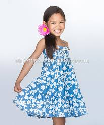 snow flower pattern girls puffy dresses for kids party dresses for