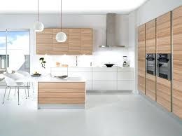 cuisine design blanche beautiful cuisine blanche et bois photos design trends 2017