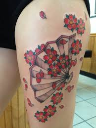 Thigh Tattoos For - 94 cherry blossom designs that will reveal your and