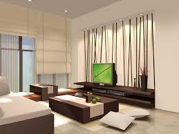 Zen Interior Style And Zen Interior Design With White Sofa And