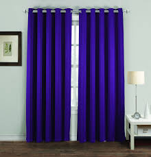 Purple Thermal Blackout Curtains by Thermal Blackout Curtains Super Soft Fabric Uarehome