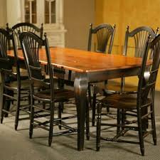 Country Dining Room Sets by Pine Dining Table Josep Homes Collection