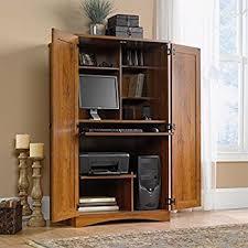 White Computer Armoire Desk Amazon Com Dmi Furniture Dmi Antigua Wood Computer Armoire In