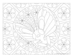 012 butterfree pokemon coloring page windingpathsart com
