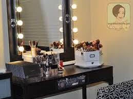Makeup Vanity Table Ideas Excellent Vanity Table With Lights Best Home Decor Inspirations
