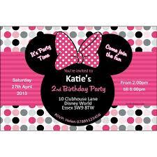 minnie mouse party invitation u2013 orderecigsjuice info
