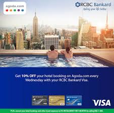 agoda york hotel visa wednesdays with agoda com rcbc bankard