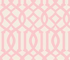 Pink Trellis Curtains Sale 1 Yard Of Tina Givens Opal Owl Trellis By Downshadowlane