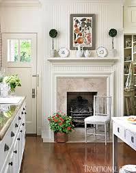 kitchen mantel ideas get the look classic mantels traditional home
