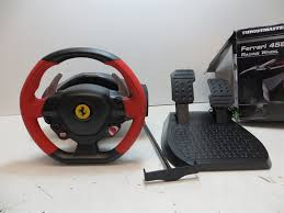 xbox one racing wheel thrustmaster 458 spider xbox one racing wheel pedals