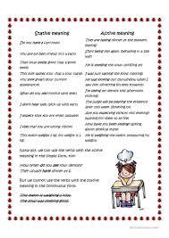 state verbs and action verbs worksheet free esl printable