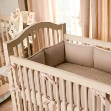Brown And Pink Crib Bedding Light Pink Linen Crib Bedding Baby Crib Bedding Carousel