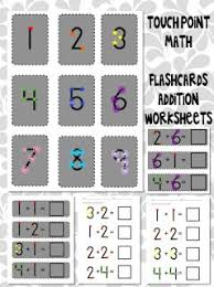 10 best touch point math images on pinterest touch math a