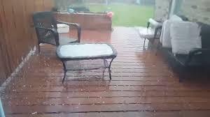 Patio Furniture Sale London Ontario London Ontario Hail Storm May 29th 2017 Youtube